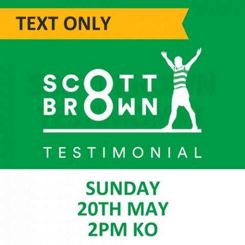Scott Brown Testimonial, 20 May 2018, Text Only