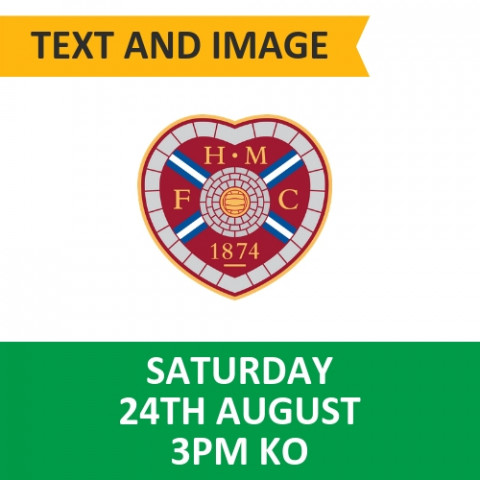Celtic v Hearts - August 24, 2019, Text and image