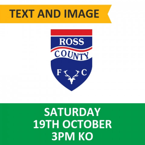 Celtic v Ross County - October 19, 2019, Text and Image
