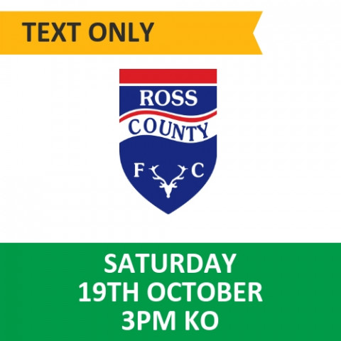 Celtic v Ross County - October 19, 2019, Text only