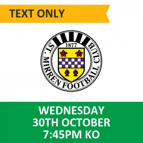 Celtic v St Mirren - October 30, 2019, Text only