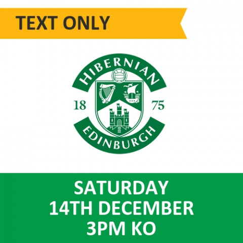 Celtic v Hibernian - December 14, 2019, Text only