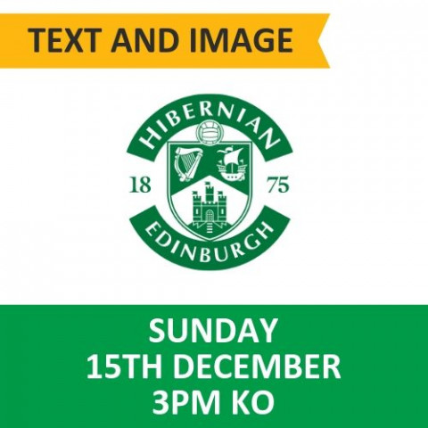 Celtic v Hibernian - December 15, 2019, Text and image