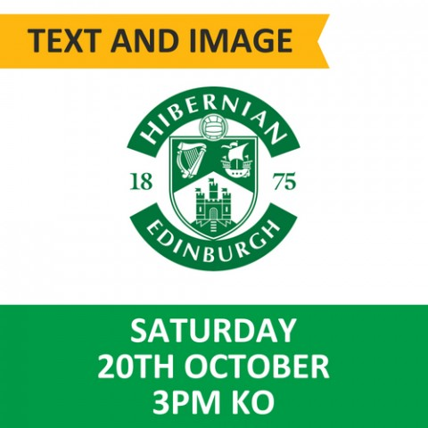 Celtic v Hibernian, October 20, 2018, Text and image