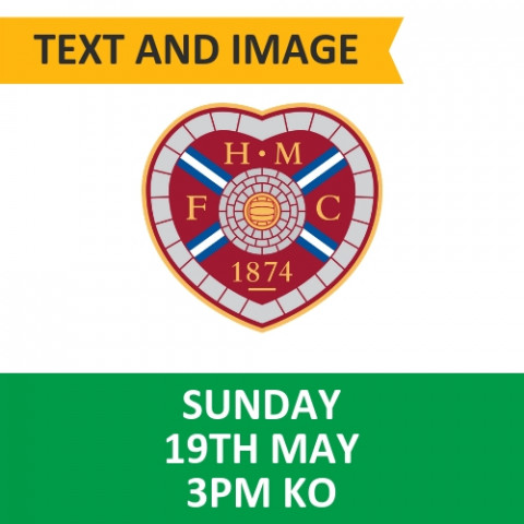 Celtic v Hearts - May 19, 2019, Text and Image