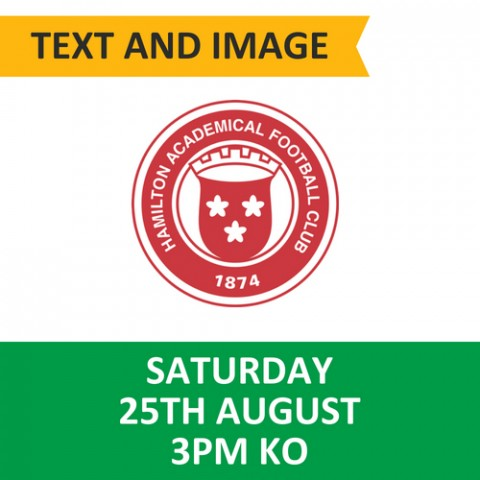 Celtic v Hamilton - August 25, 2018, Text and image